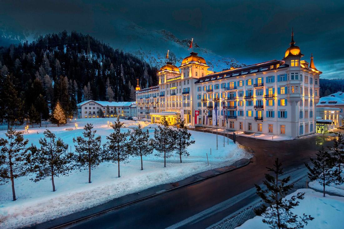 Luxury hotel in St. Moritz