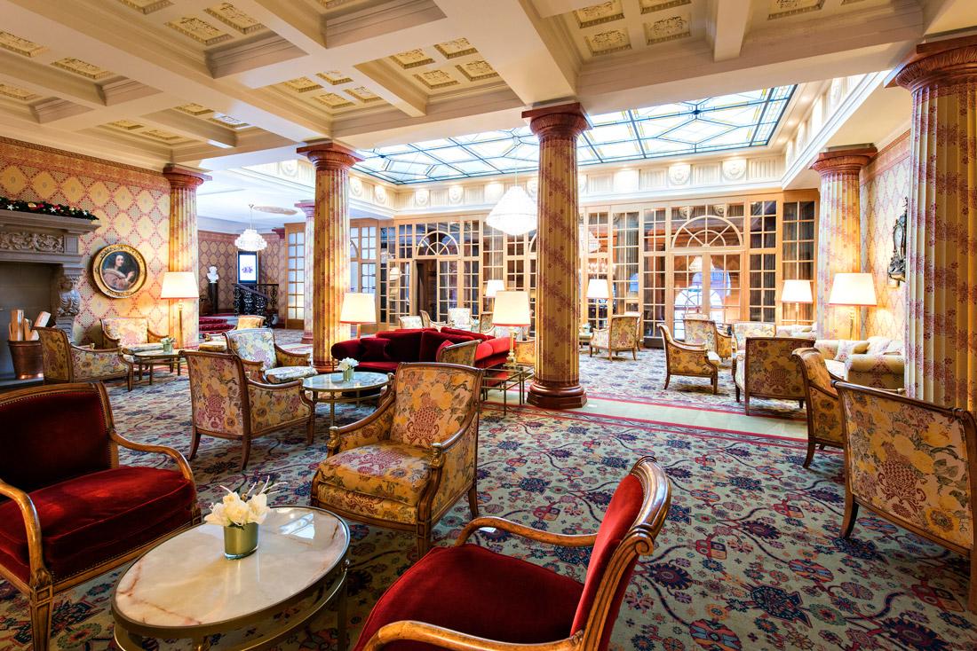 Oldest hotel in St. Moritz