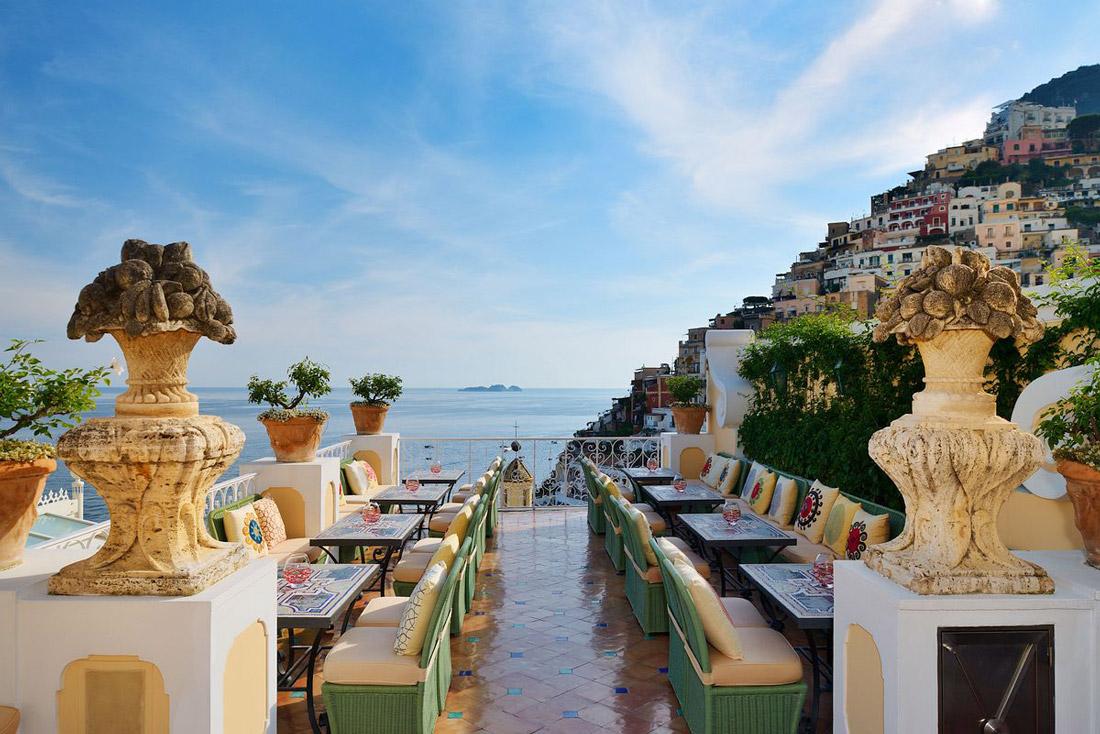 Beautiful bar in Positano