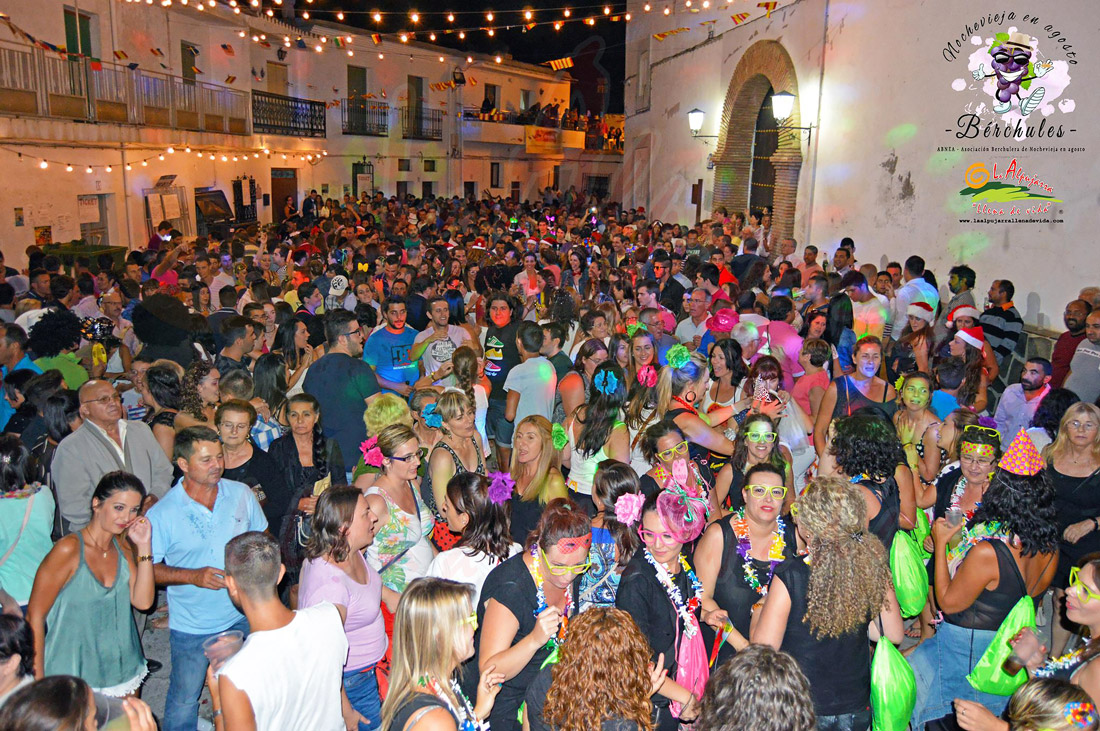 New Year's Eve celebration in August