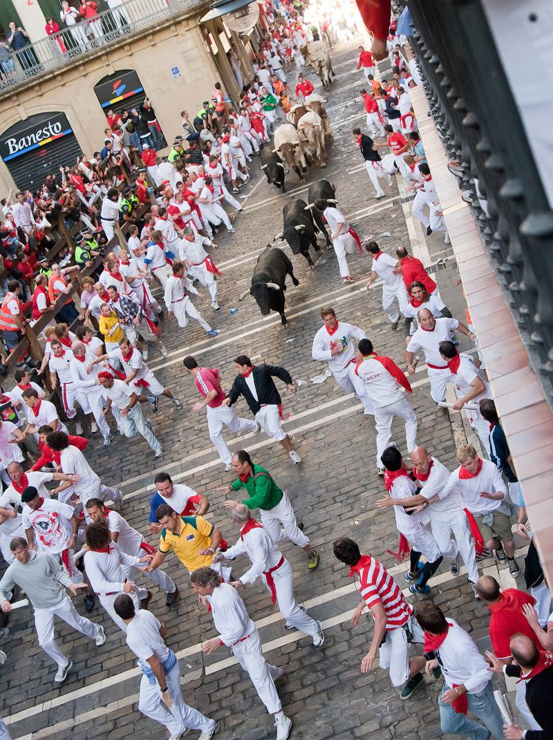 Running of the Bulls, Pamplona