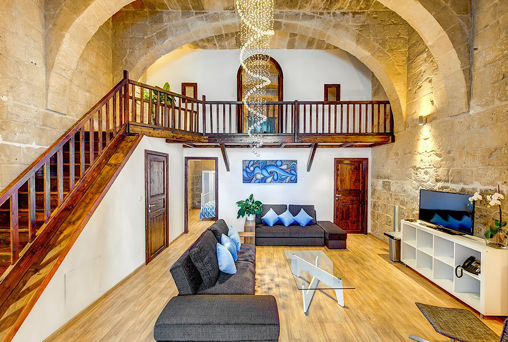 Traditional Maltese house
