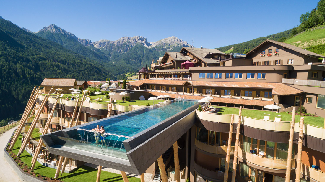 Spectacular hotel in South Tyrol