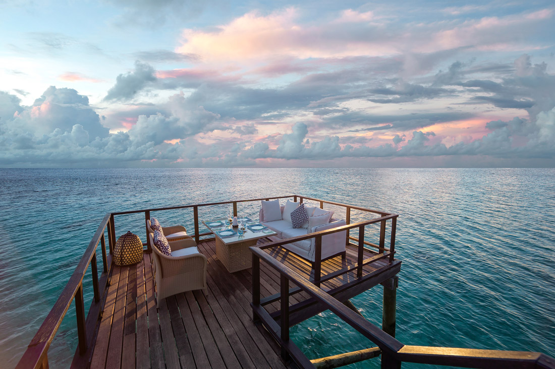 Over-water dining