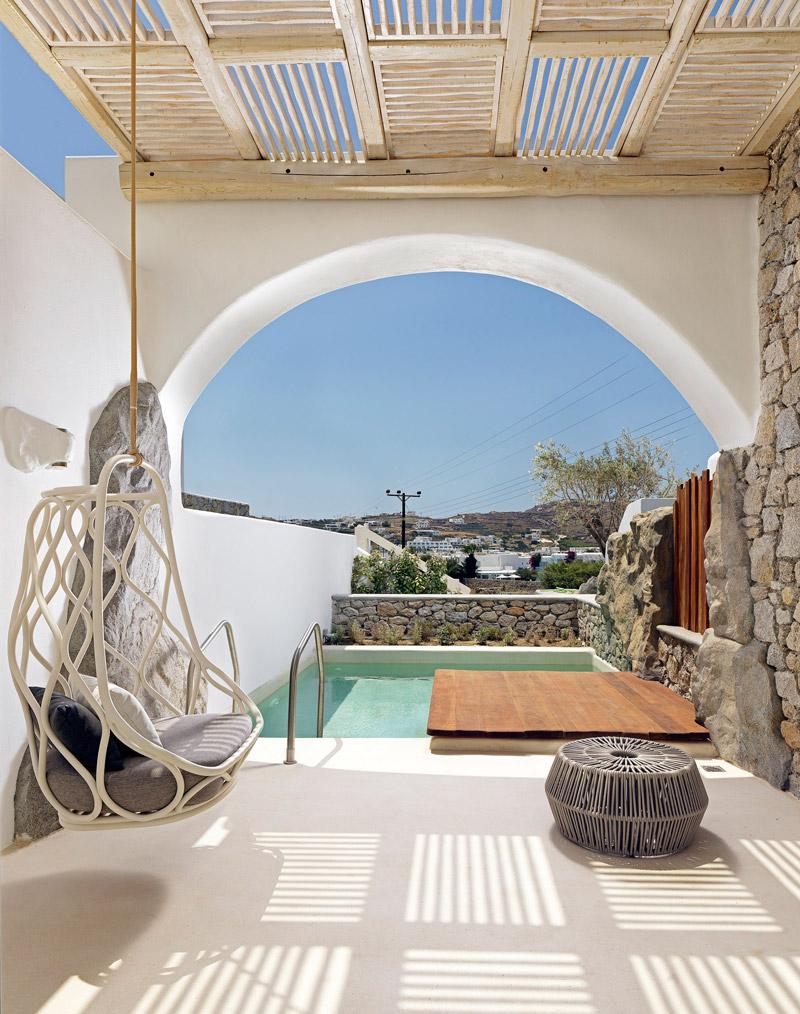 Beautiful retreat in Mykonos