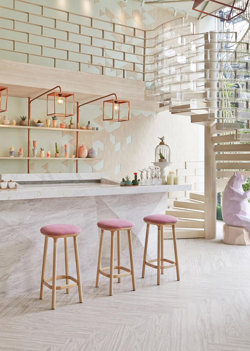 Sugar-themed bar