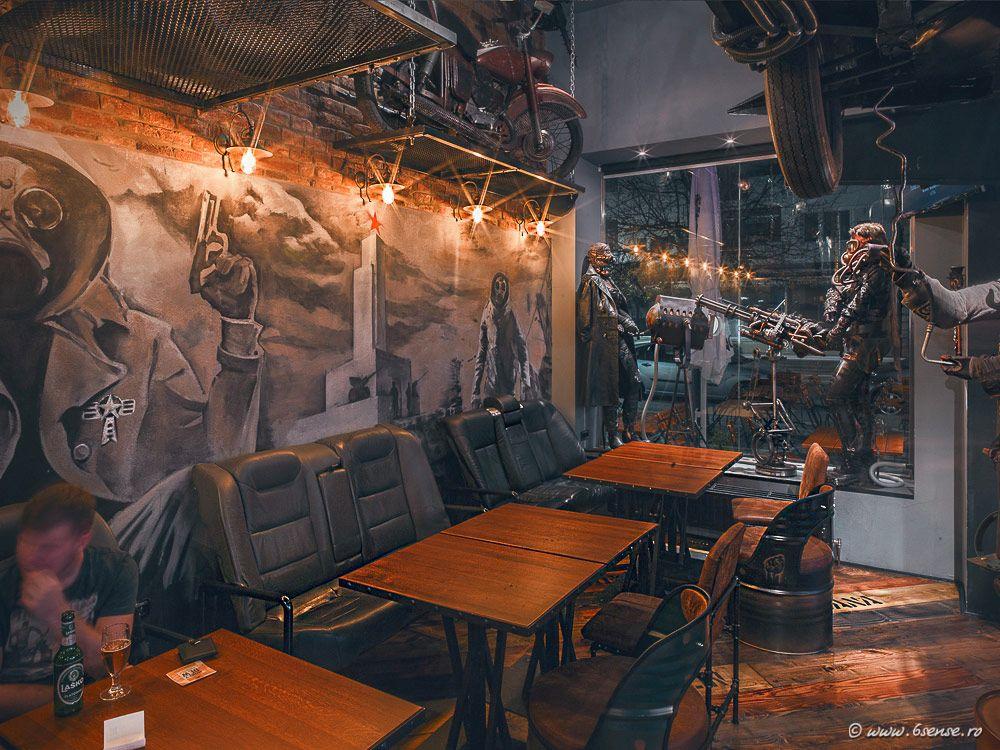 Steampunk bar in Slovenia