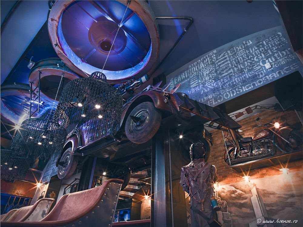 Mad Max-themed bar