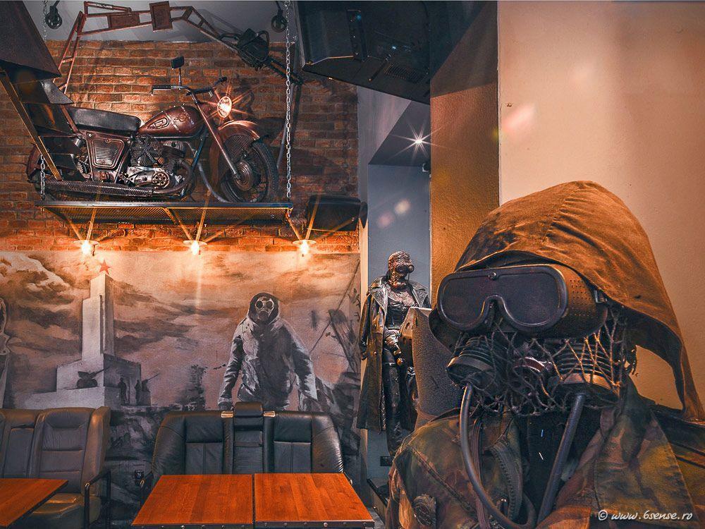 Post-apocalyptic interiors