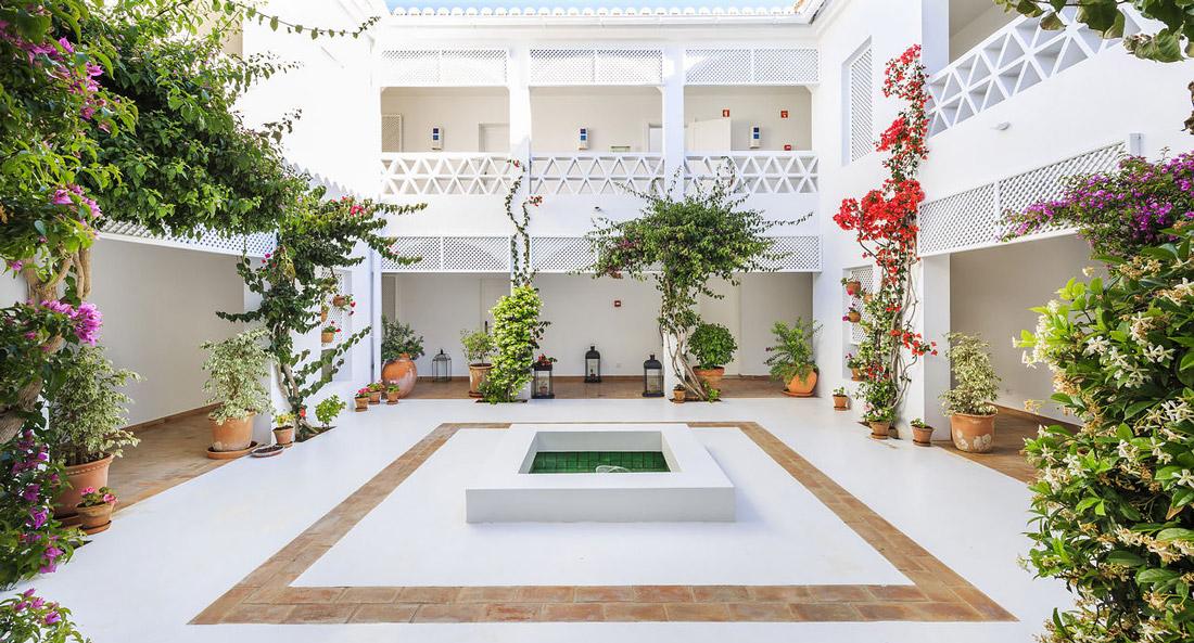 Andalusian courtyard