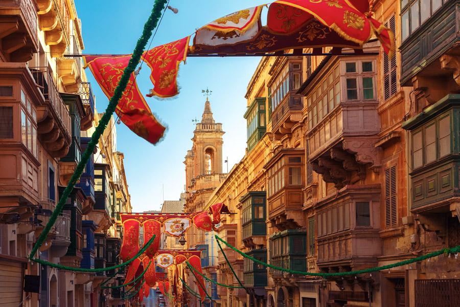 Street festival in Valletta