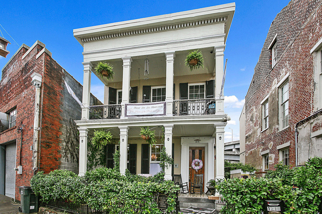 Beautiful mansion in the Lower Garden District