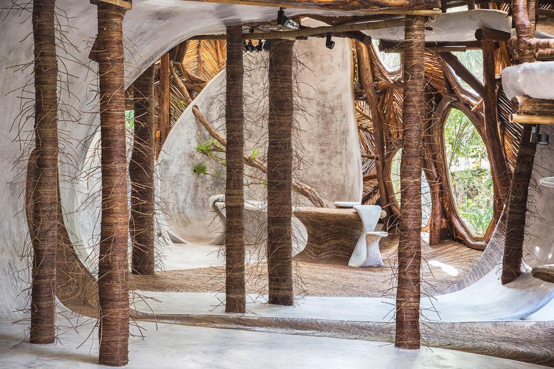 Art gallery in Tulum