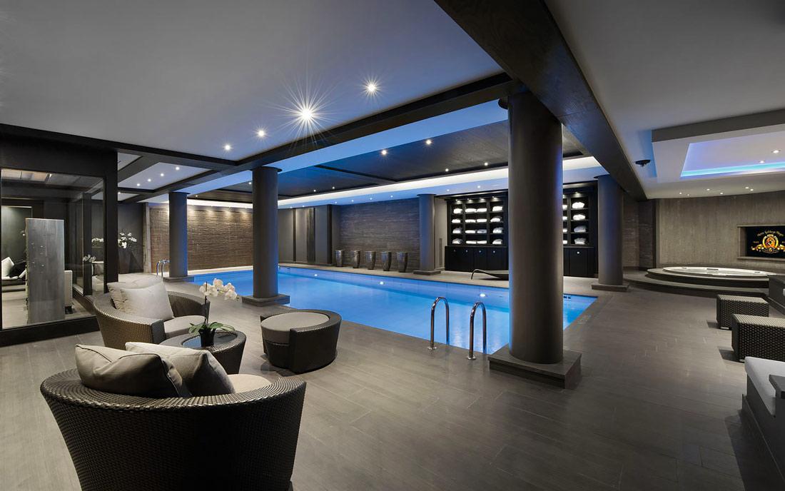 Luxury underground spa
