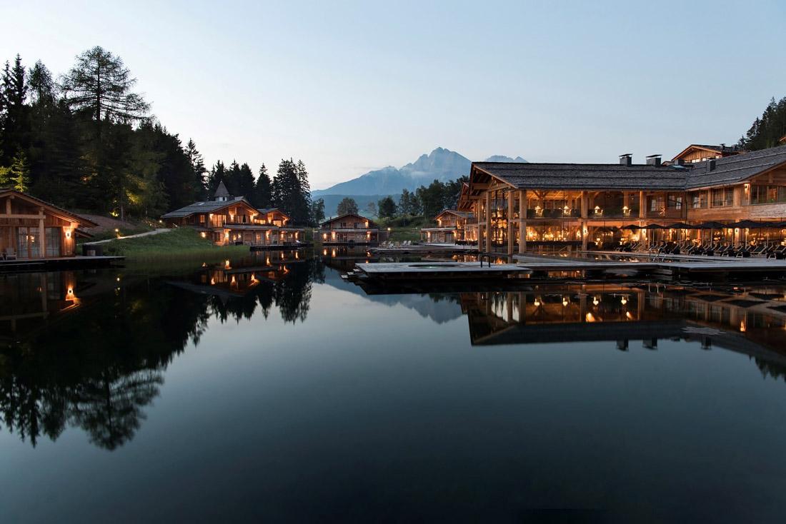 Hotel on the Avelengo plateau