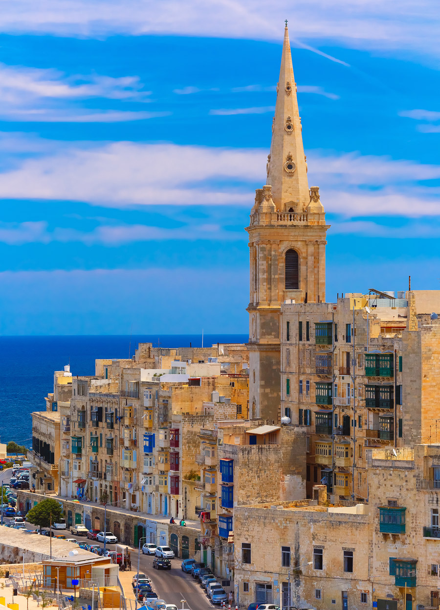 Old buildings in Malta