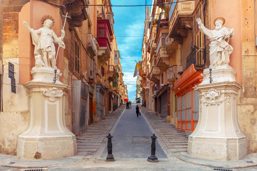 Majestic architecture in Malta