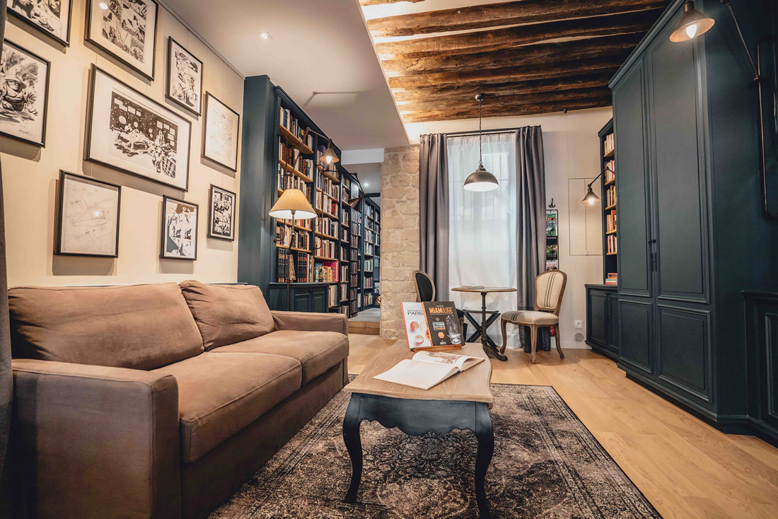 Concept hotel in Paris