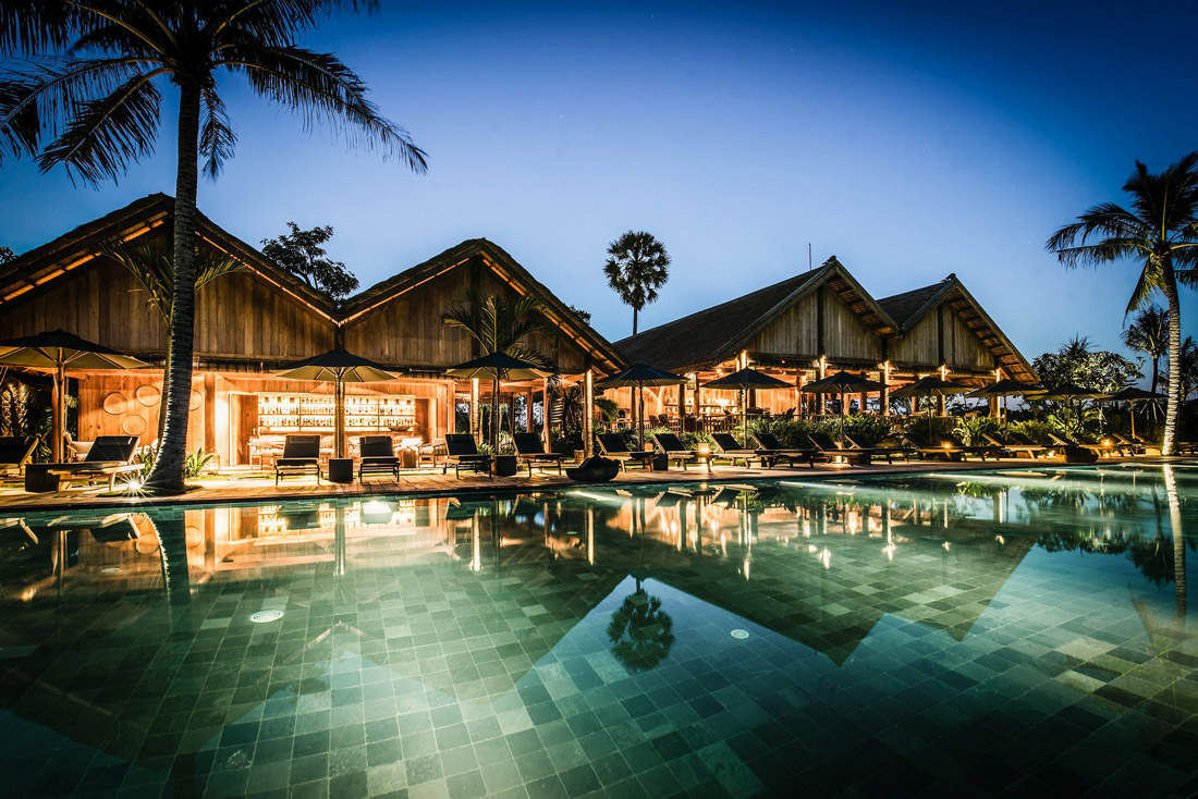 Luxury resort near Siem Reap