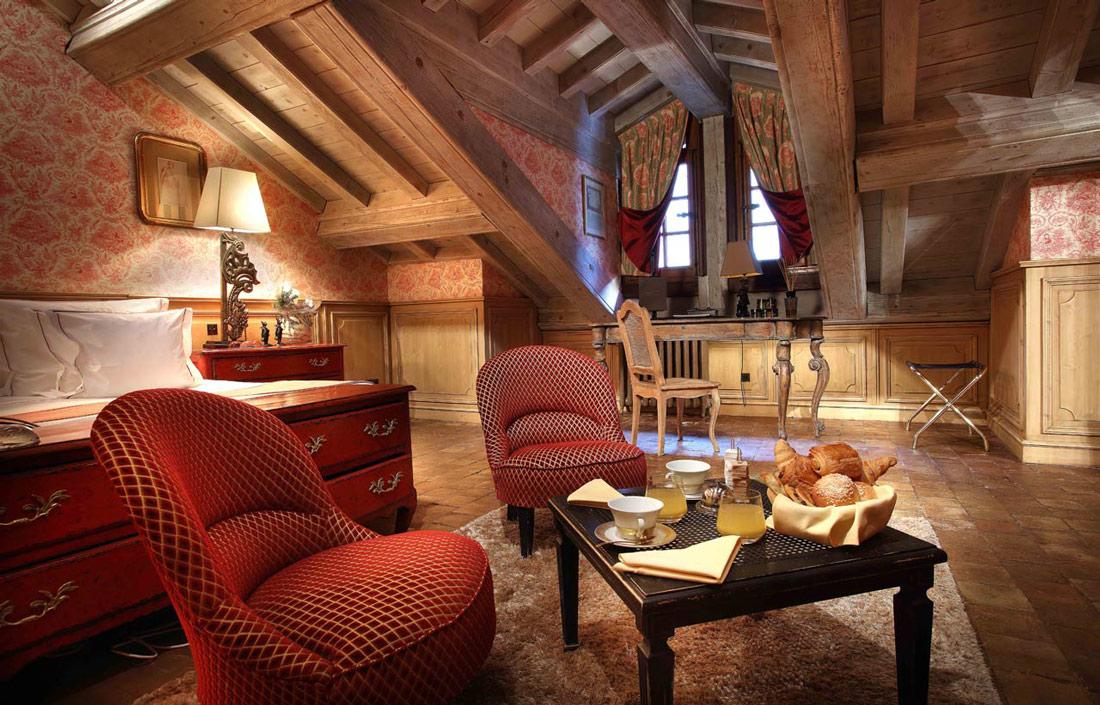 Luxury hotel in Courchevel 1850