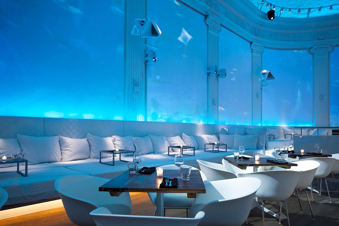 Stylish restaurant in Amsterdam
