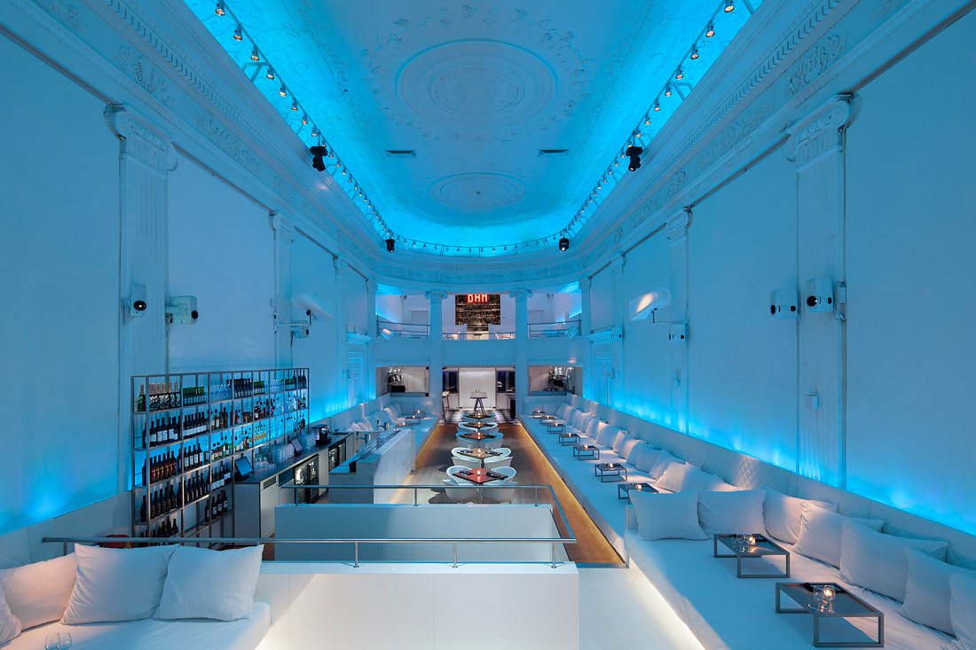 Club in Amsterdam designed by concrete