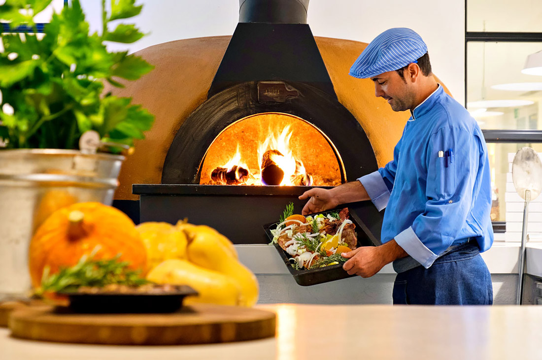 Traditional Portuguese oven