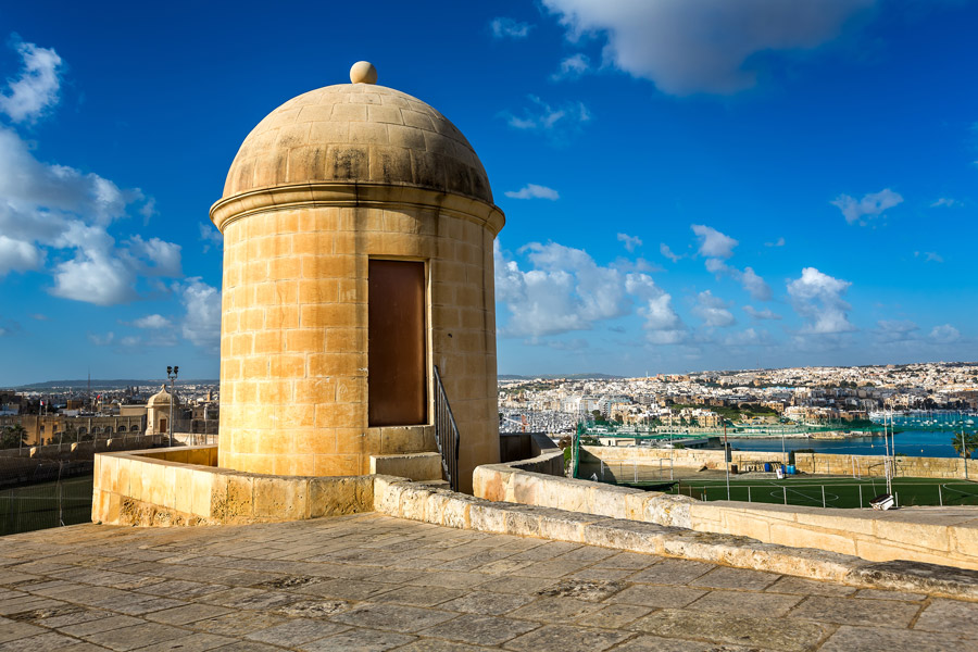 Watch tower in Valletta