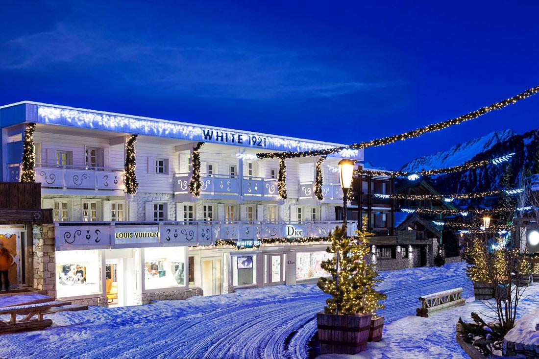 Modern hotel in Courchevel