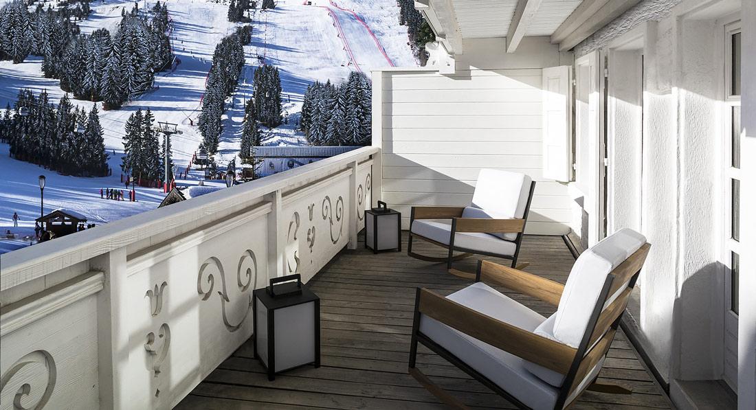 Luxury hotel near the ski piste