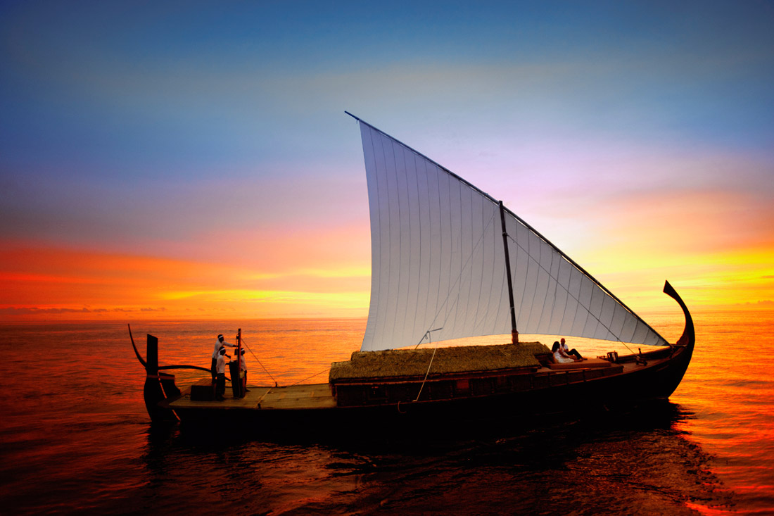Handcrafted boat