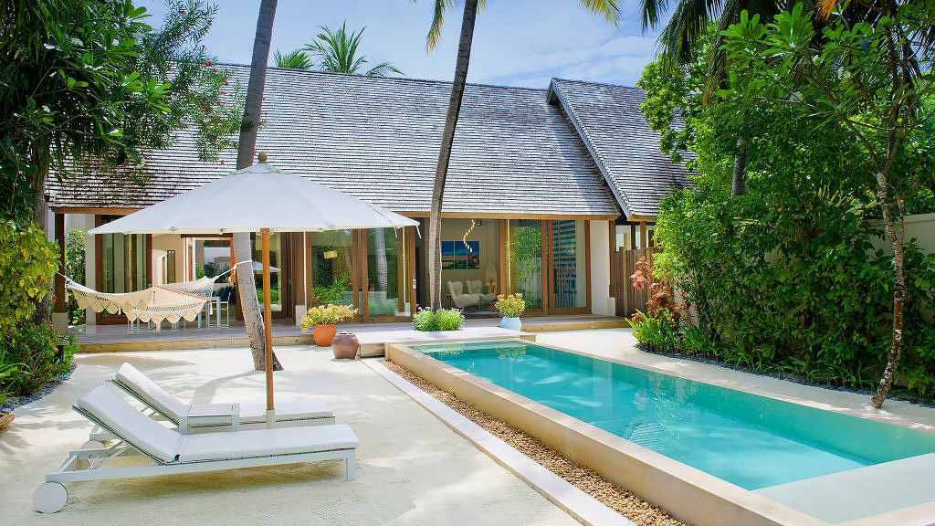 House with private beach access