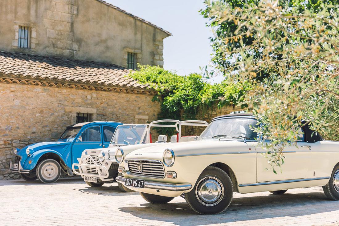 Vintage cabriolets in France