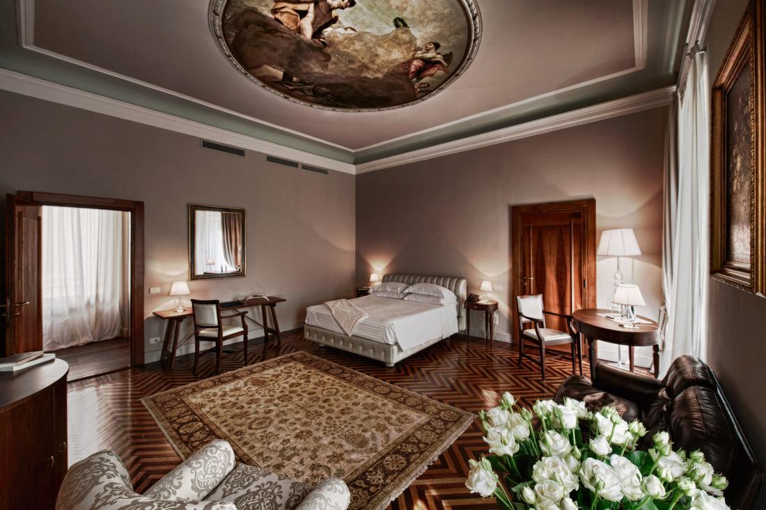 Room with fresco
