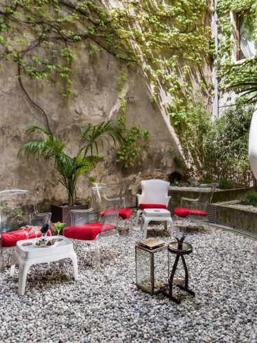 Veronese courtyard