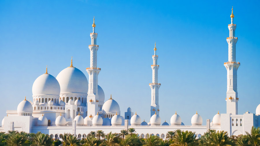 The World's Most Beautiful Mosque in 17 Photos