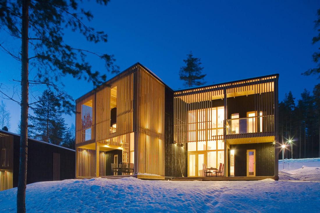 House designed by Timo Leiviskä
