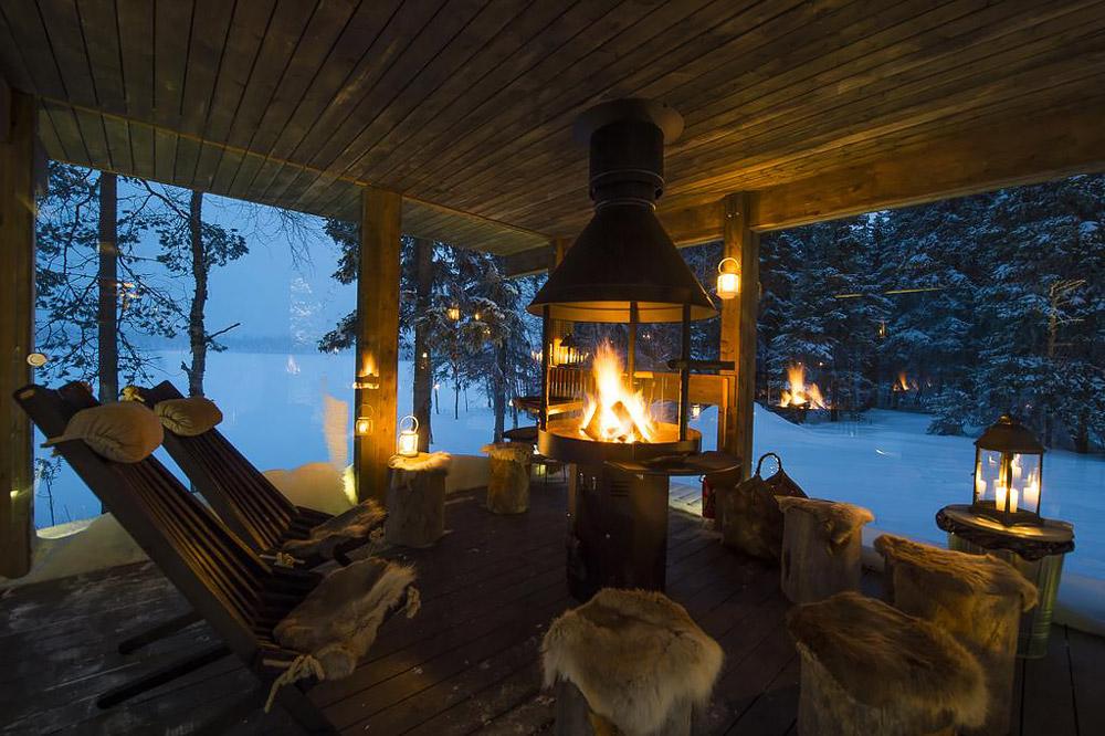 Winter retreat in Finland