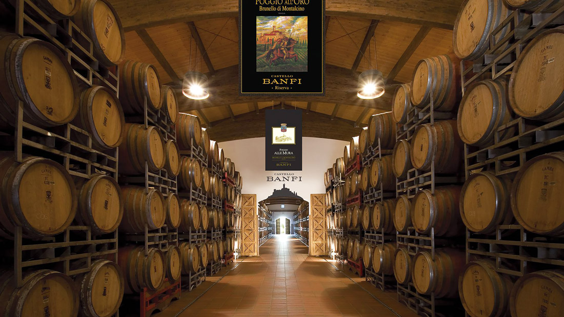 Castello Banfi Winery