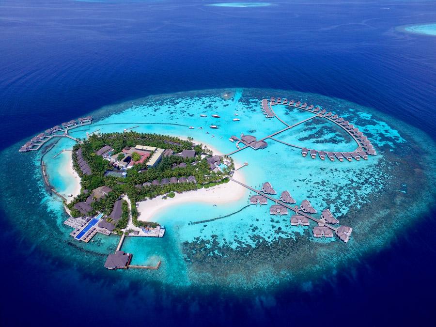 Beautiful island in Asia