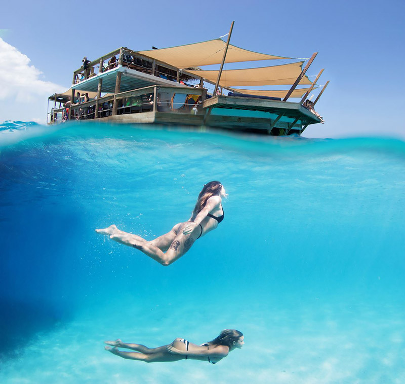 Diving in Fiji