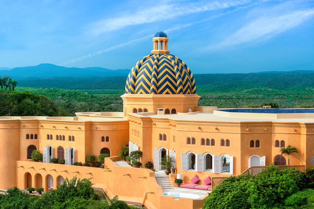 Moorish palace in Mexico