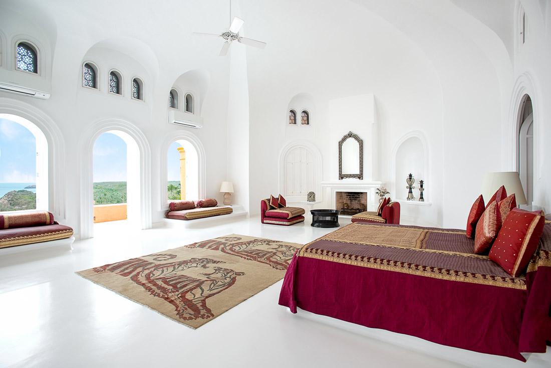Moorish bedroom design