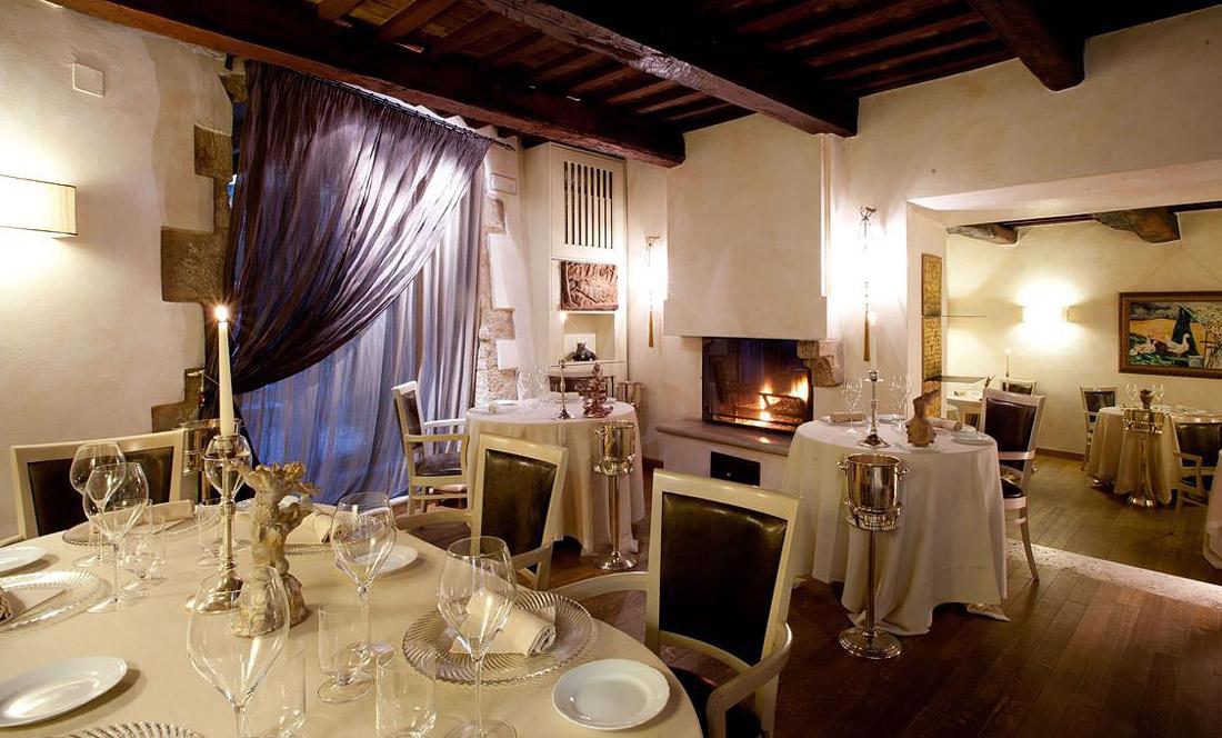 Michelin-starred restaurant in Montemerano