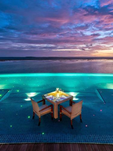 Restaurant in the Maldives