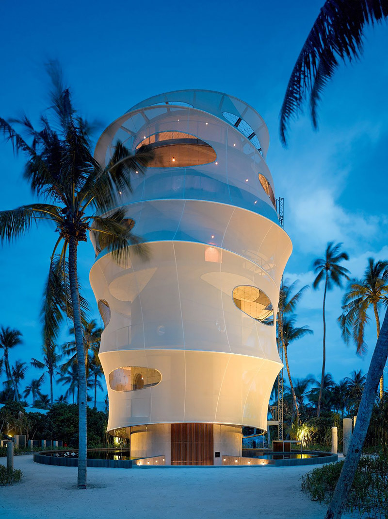 Tower in the Maldives