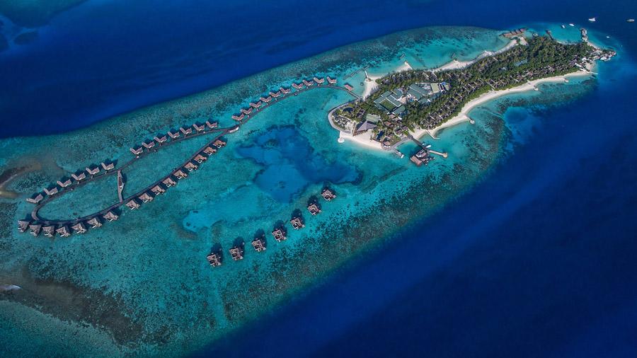 Exotic destination in the Maldives