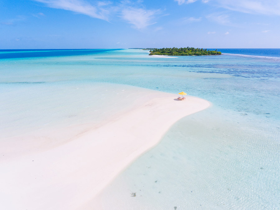 The most romantic beach in the world