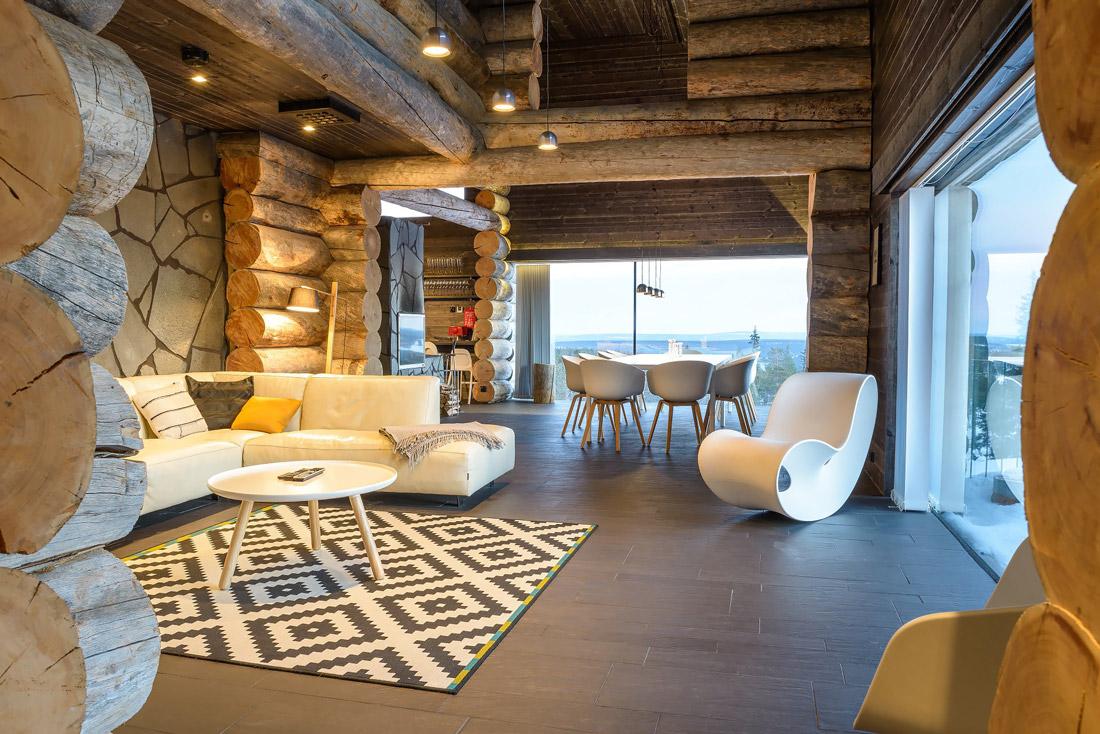 Luxury villa in Levi