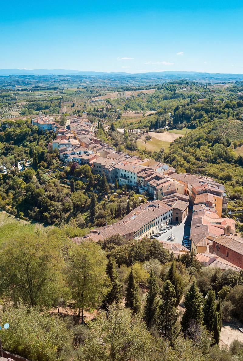 San Miniato village, Tuscany
